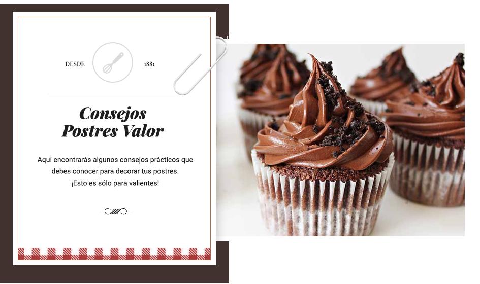 Consejos - Chocolates Valor