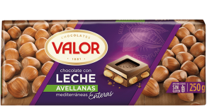 Chocolate con Leche y Avellanas
