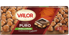 Chocolate Puro con Avellanas