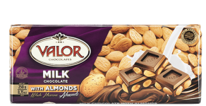 Milk Chocolate with Almonds 250g