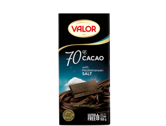 70% Dark Chocolate with Mediterranean Salt 100g