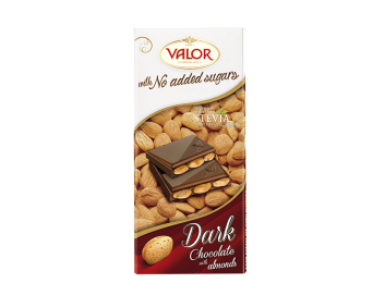 Dark Chocolate with Almonds No Sugar Added 150 g