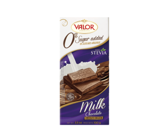 Milk Chocolate No Sugar Added 100g