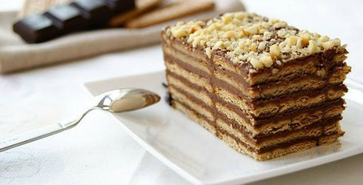 Rectagular Chocolate Cake