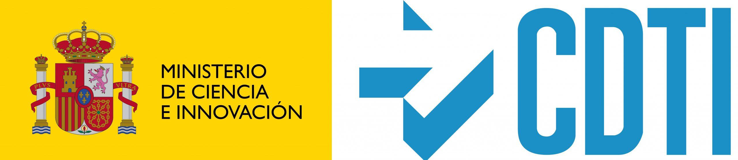 Logo CDTI - Ministerio de Ciencia e Innovación
