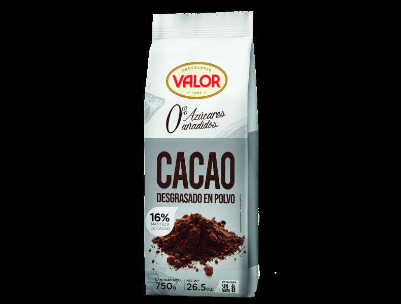 Fat-reduced pure Cocoa powder