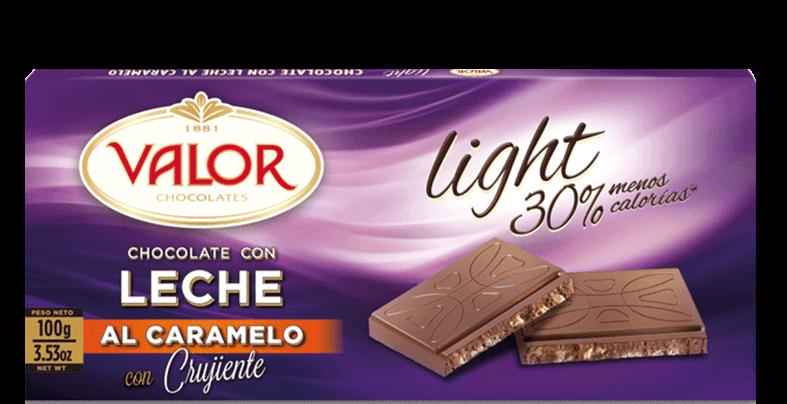 Resultado de imagen de chocolate valor caramelo light