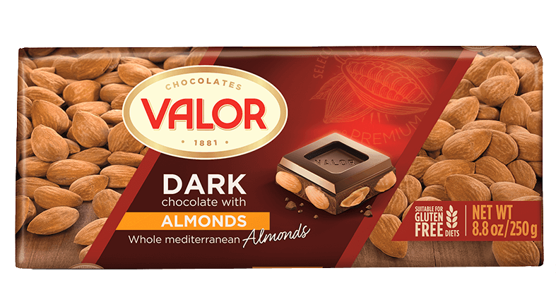 Dark Chocolate with Almond 250g