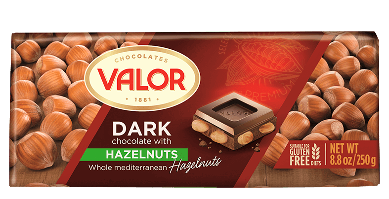 Dark Chocolate with Hazelnut 250g