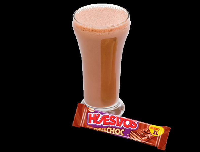 SÚPER MERIENDA: Cacao Suave + Huesitos Superchoc