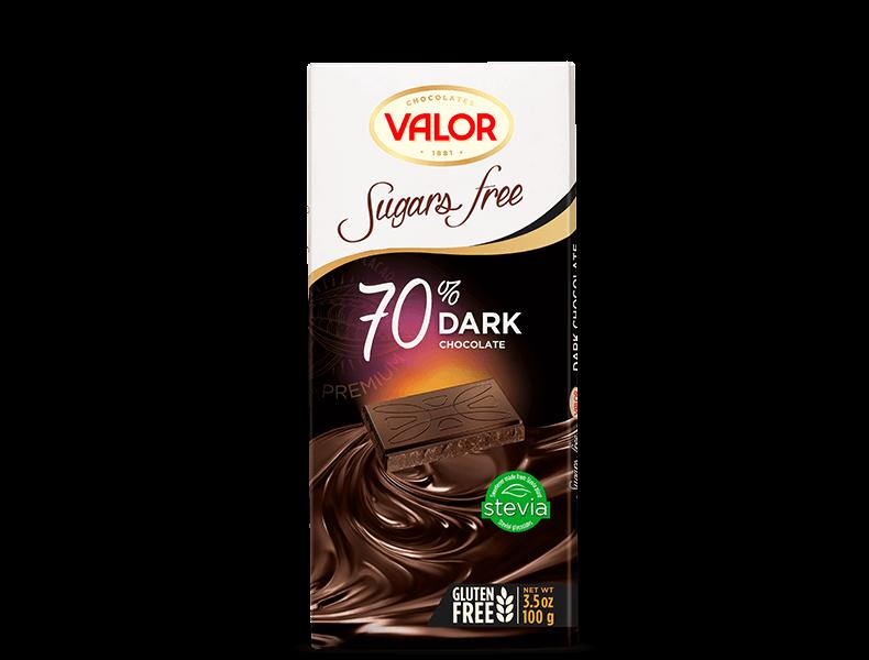 70% Dark Chocolate Sugar Free 100g