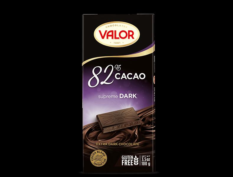 82% Dark Chocolate 100g