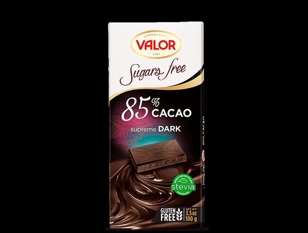 85% Dark Chocolate sugar free