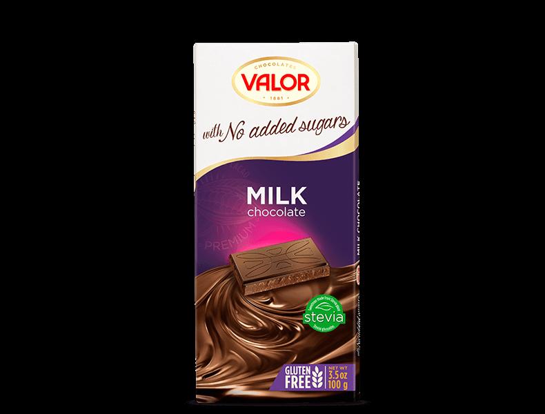 Milk Chocolate No Sugar Added 100g