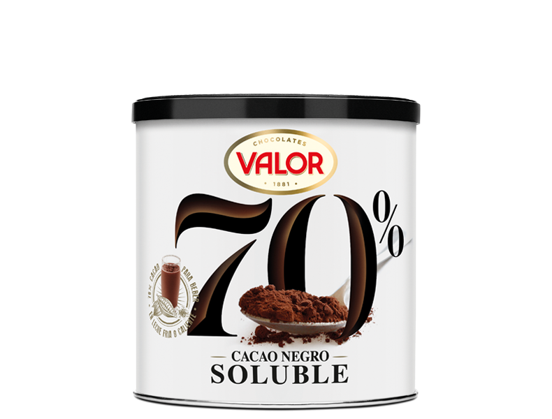 70% Instant cocoa