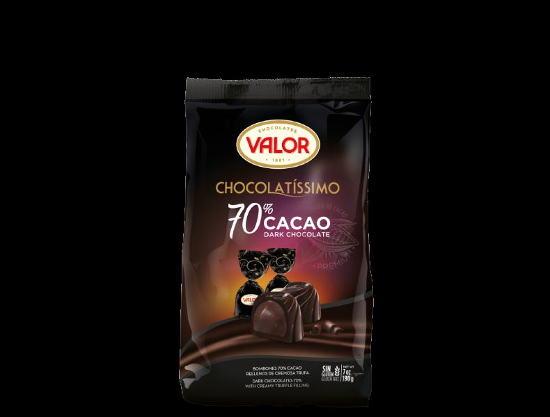 Chocolatíssimo 70% cacao